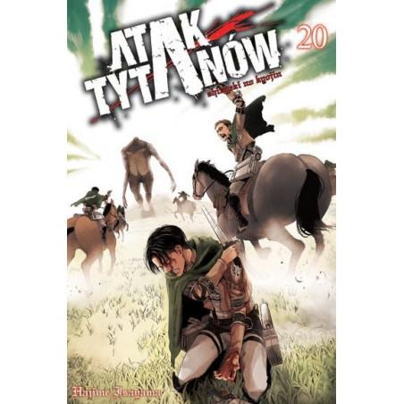 Manga - Attack on Titan tom 20