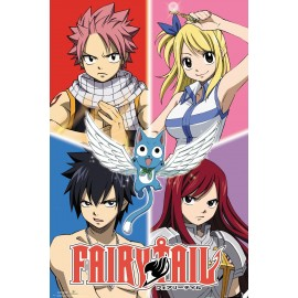 Duży plakat - Fairy Tail
