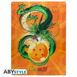 Metalowa, ozdobna płytka - Shenron (Dragon Ball)