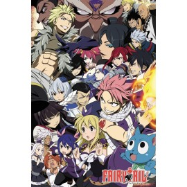 Duży plakat - Fairy Tail v2