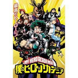 Duży plakat - Boku no Hero Academia v3