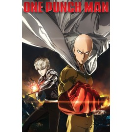 Duży plakat - One Punch Man