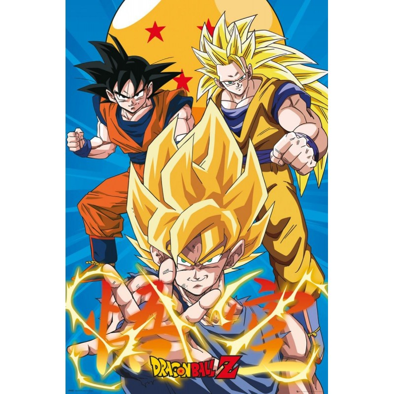 Duży plakat - Dragon Ball
