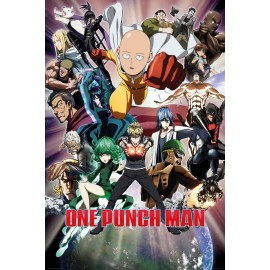 Duży plakat - One Punch Man v2