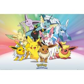 Duży plakat - Pokemon v2