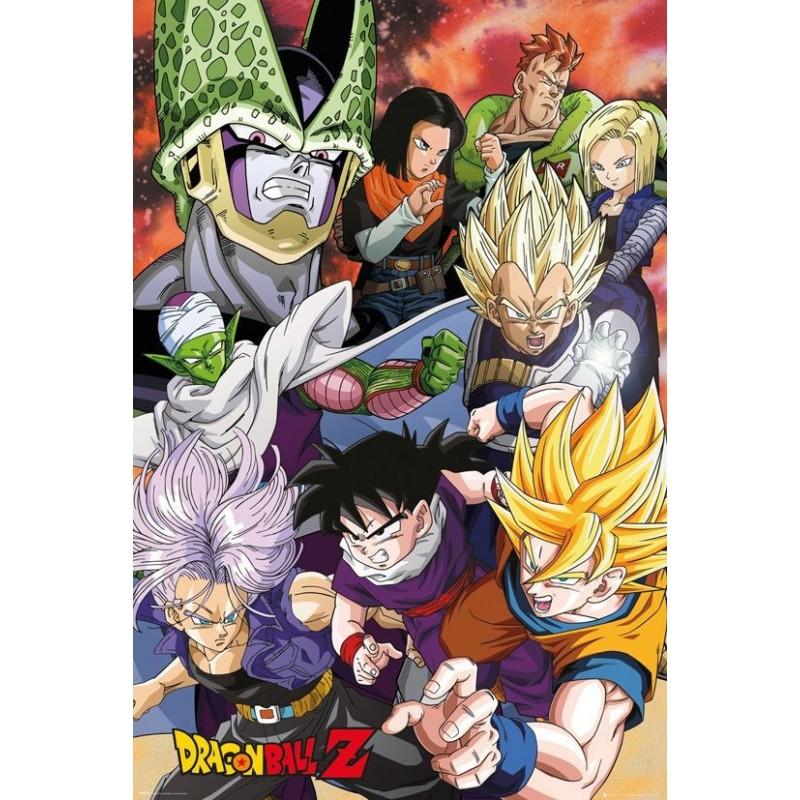 Duży plakat - Dragon Ball v3