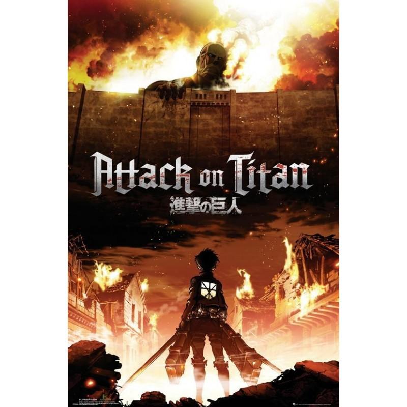 Duży plakat - Atak Tytanów