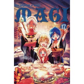 Magi: the labyrinth of magic - tom 17