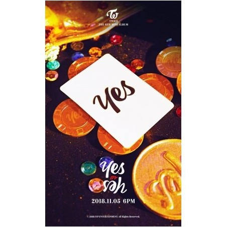 TWICE – YES OR YES (6TH MINI ALBUM)