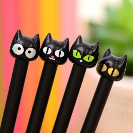 Długopis - Czarny kot