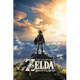 Duży plakat - The Legend Of Zelda