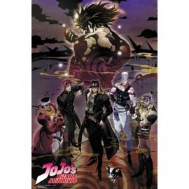 Duży plakat - JoJo's Bizarre Adventure