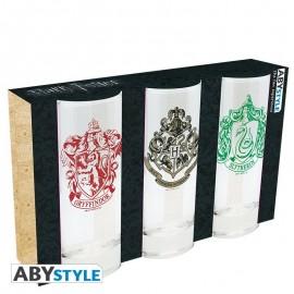 Zestaw szklanek - Harry Potter