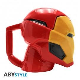 Iron Man - kubek 3D