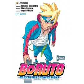 Manga - Boruto tom 4