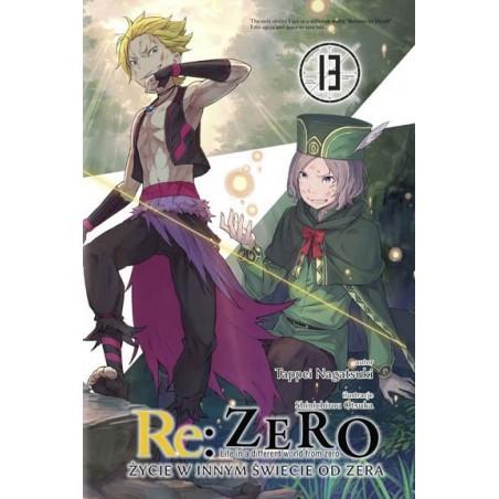 Light Novel'a - Re:Zero kara Hajimeru Isekai Seikatsu - tom 13
