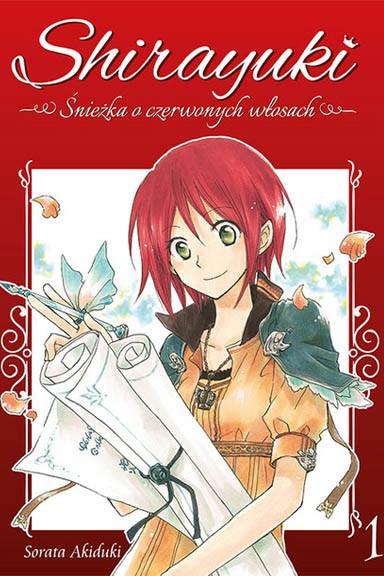 Shirayuki. Śnieżka o czerwonych włosach.
