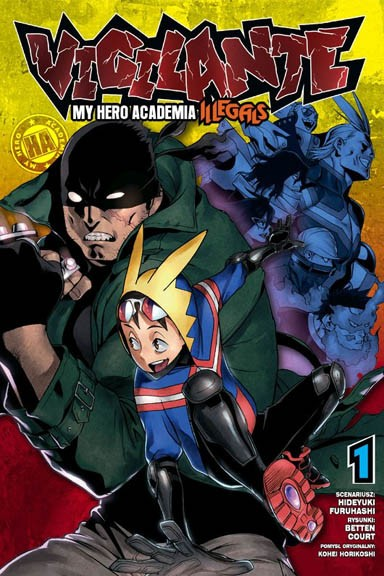 Boku no Hero Academia  - Illegals