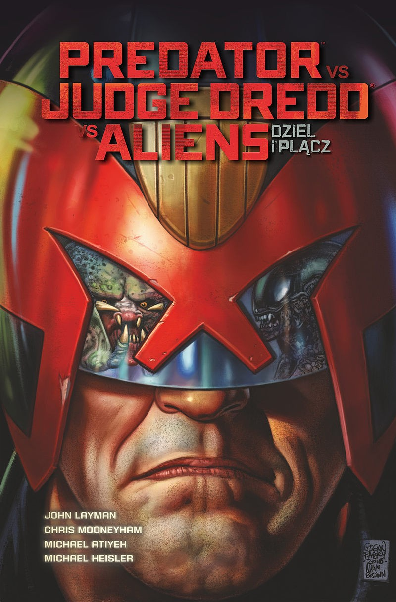 Predator VS Judge Dredd VS Aliens