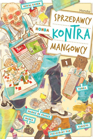 Honda. Sprzedawcy kontra mangowcy